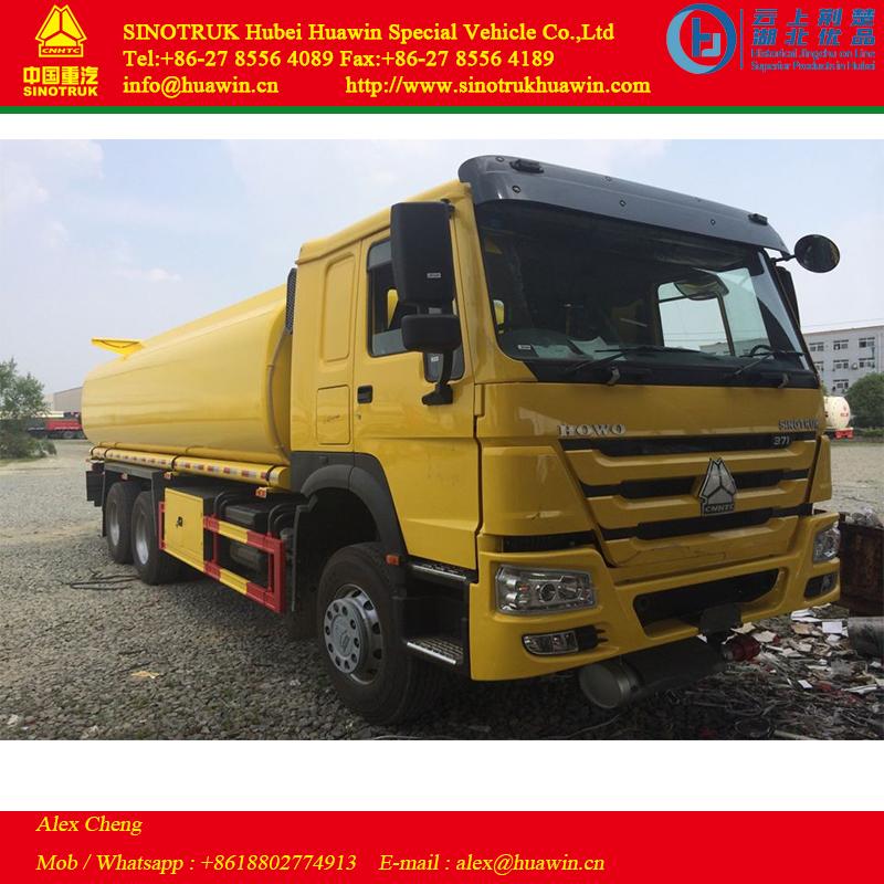 HOWO 6x4 fuel truck