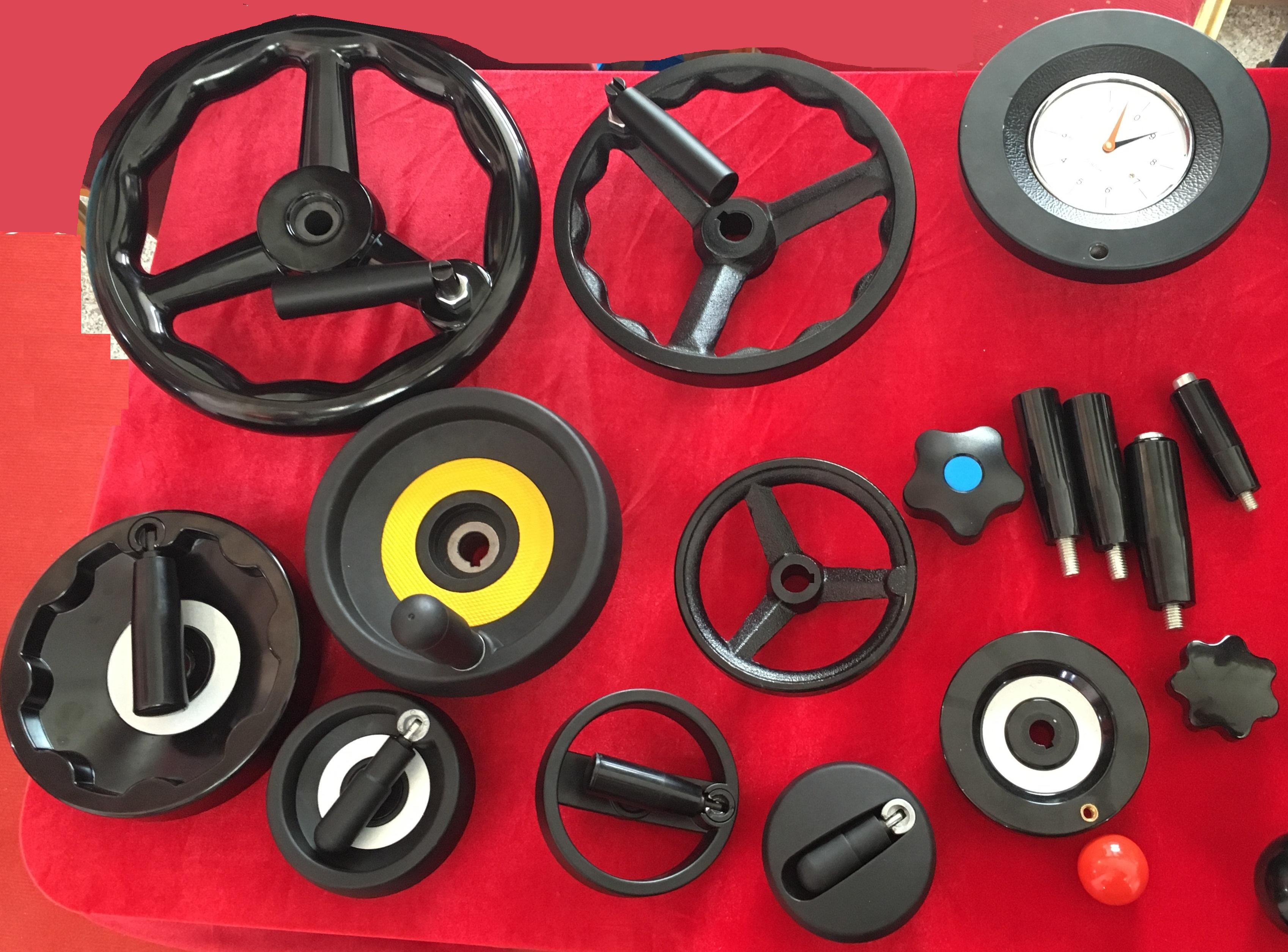Bakelite handwheel