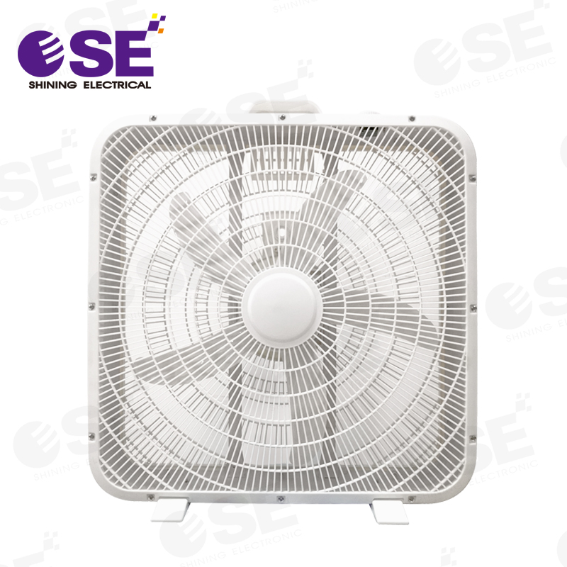 wholesale hot sell 20 inch 5 PP blades Industrial box fan