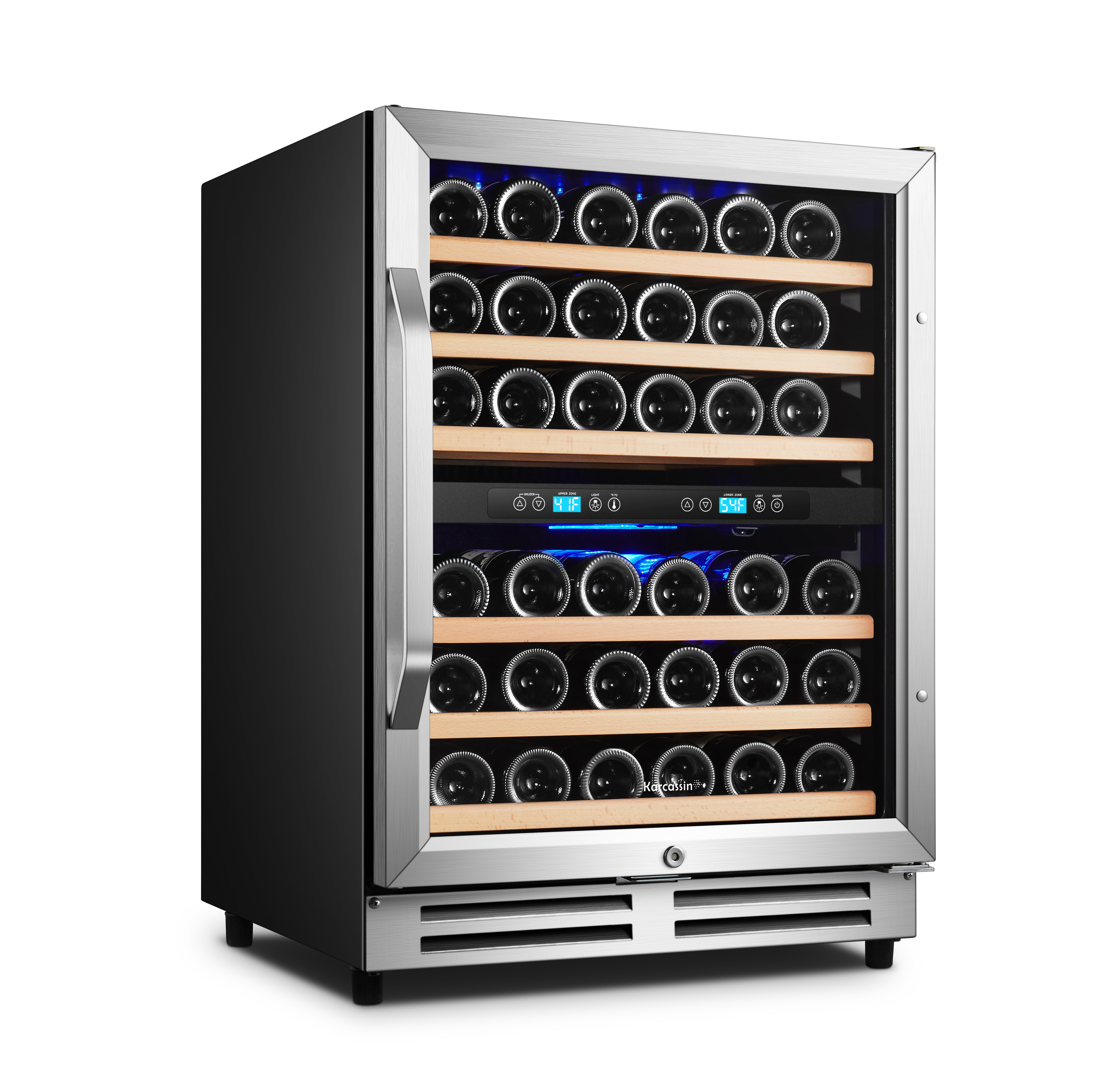 24 inch dual zone wine cooler