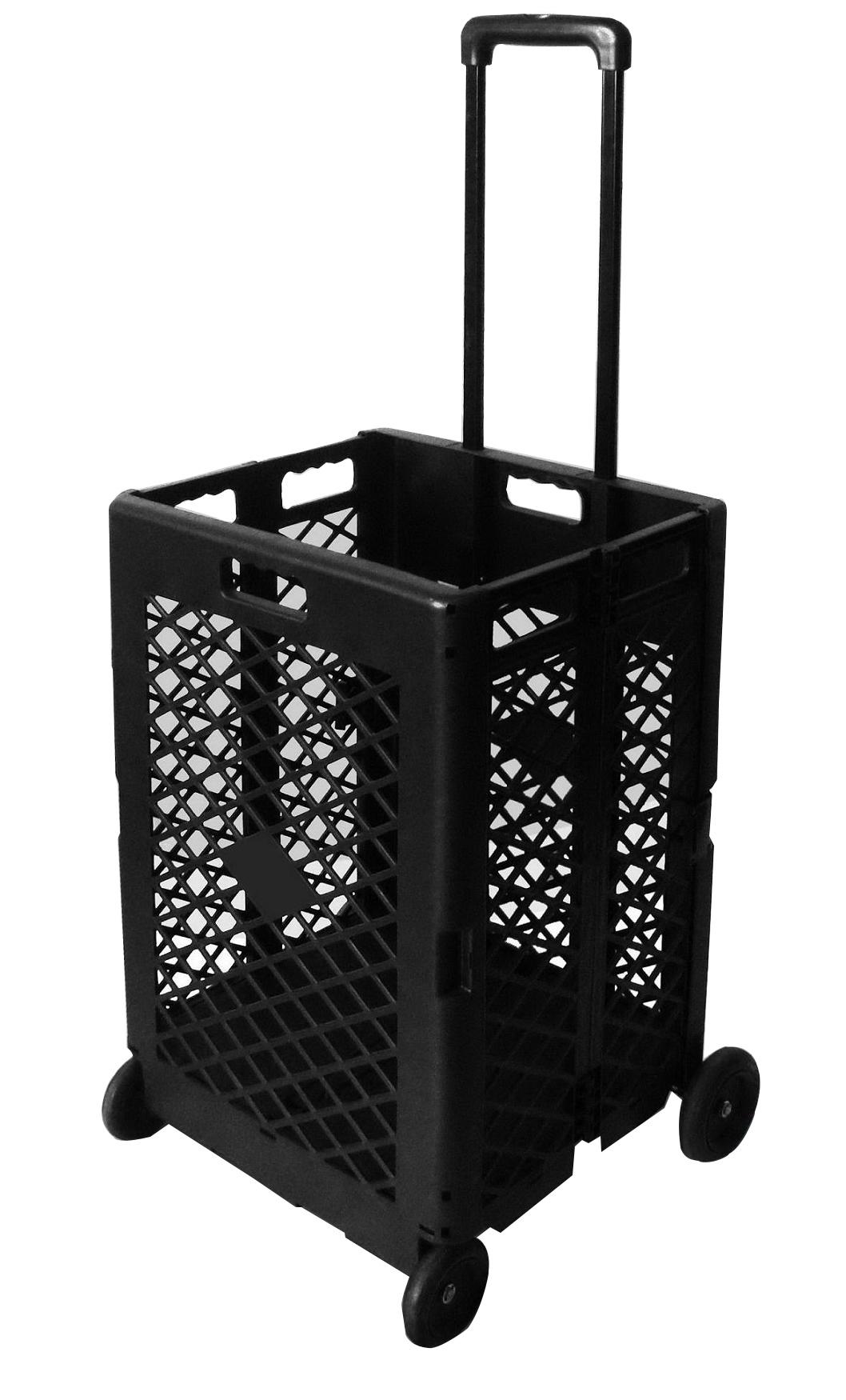 Extra Capacity Plastic Shopping Cart