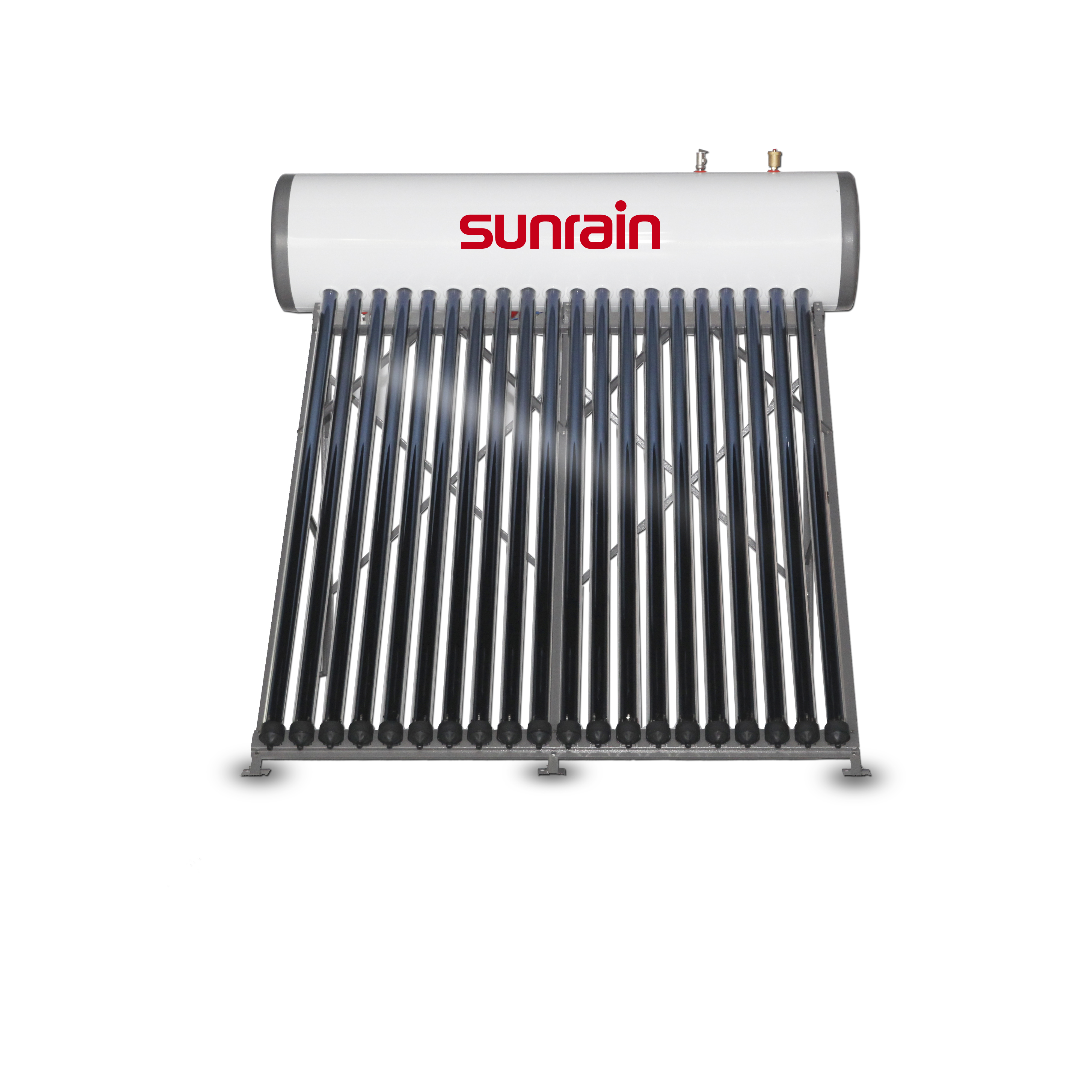 Pressurized Solar Water heater with heat pipe