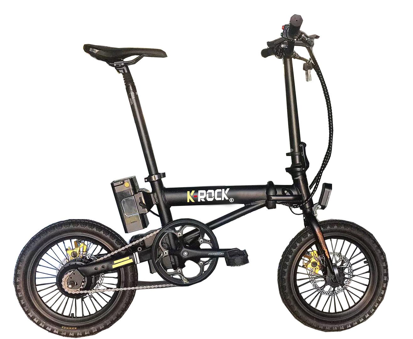 16inch Aluminum alloy electric folding bike