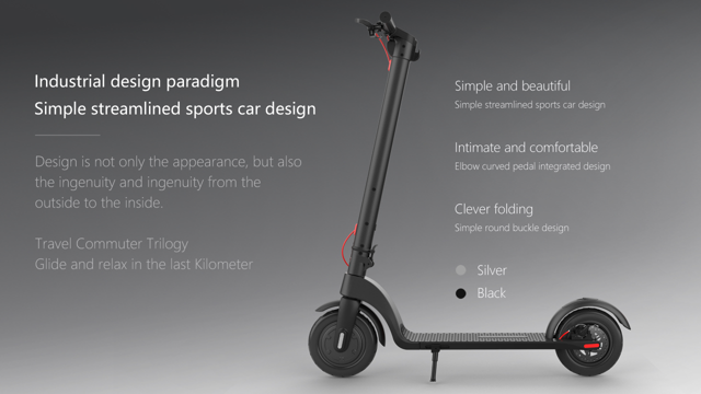 8.5inch electric scooter