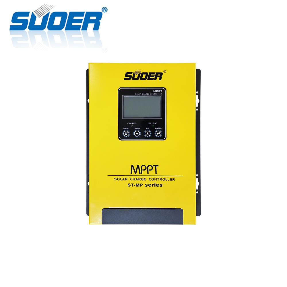 Suoer 12V/24V/48V 60A MPPT solar charger controller