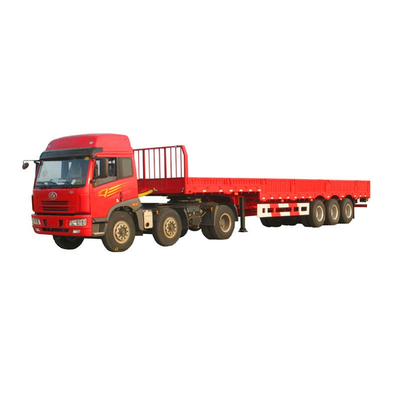 2axle or 3 Axle Flatbed Timber Semi Trialer for Sale