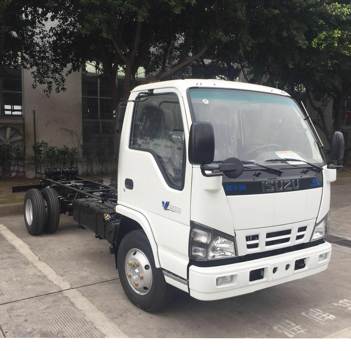 Single Cabin Truck Chassis