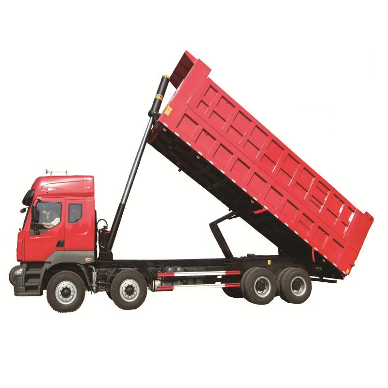 High Quality Utility Dump Semi Trailer for Tractor Truck