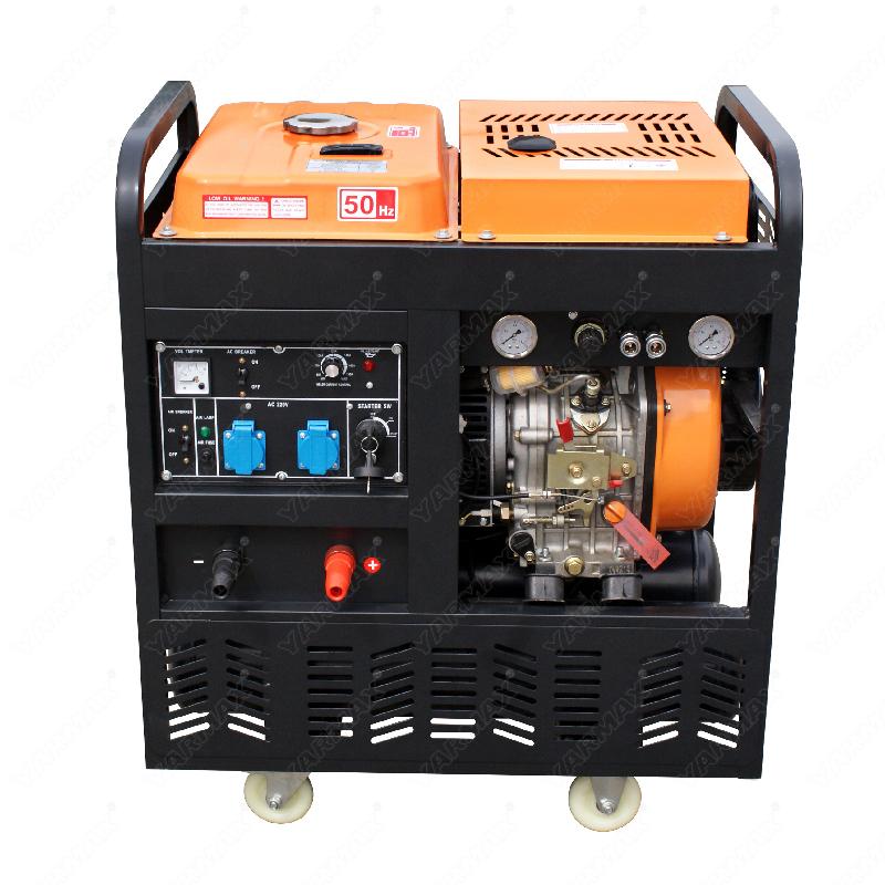 Yarmax Four-in-one generator welding air pressure generation