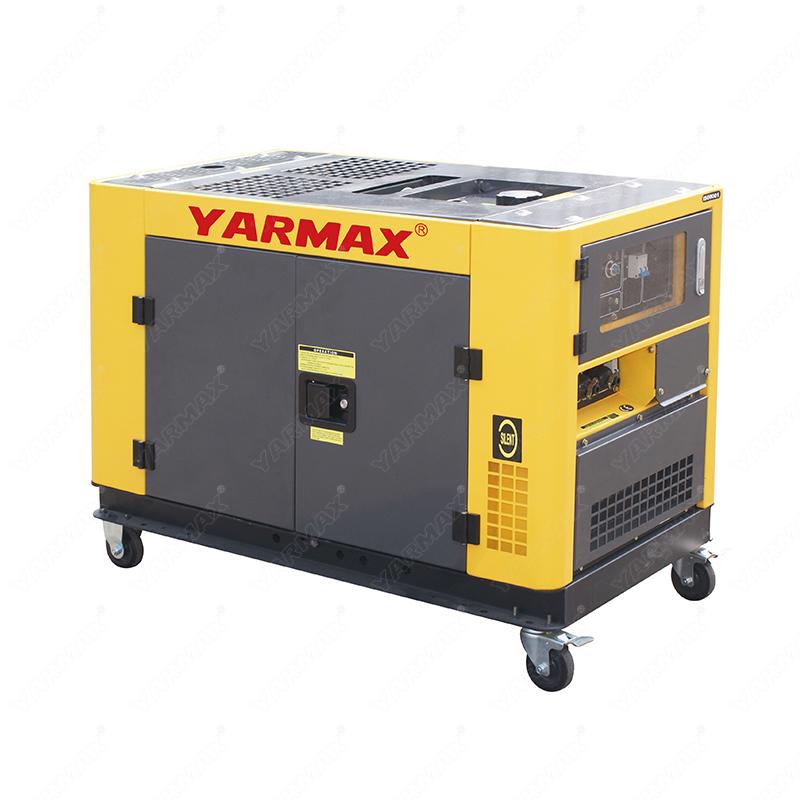 Yarmax 10kva Double Cylinder Silent Type Diesel Generator