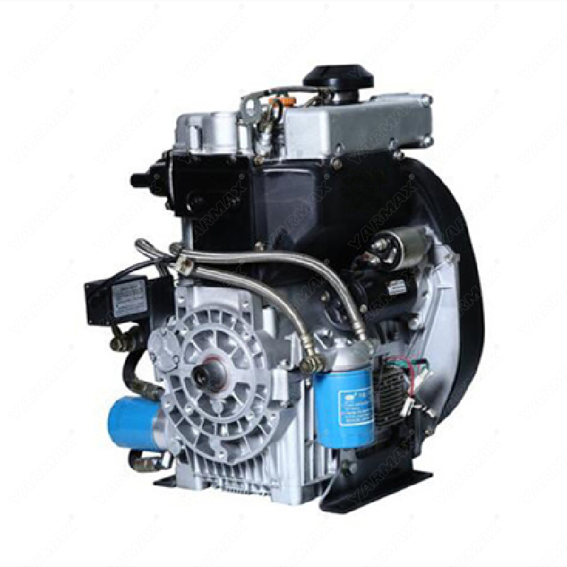 Yarmax double cylinder air-cooled diesel engine