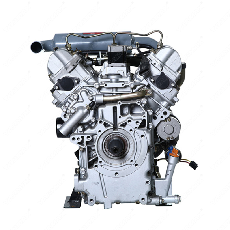 Yarmax double cylinder water-cooled diesel engine