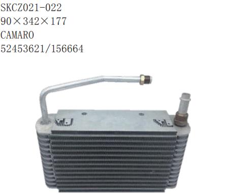 Car Air conditioning laminated evaporator