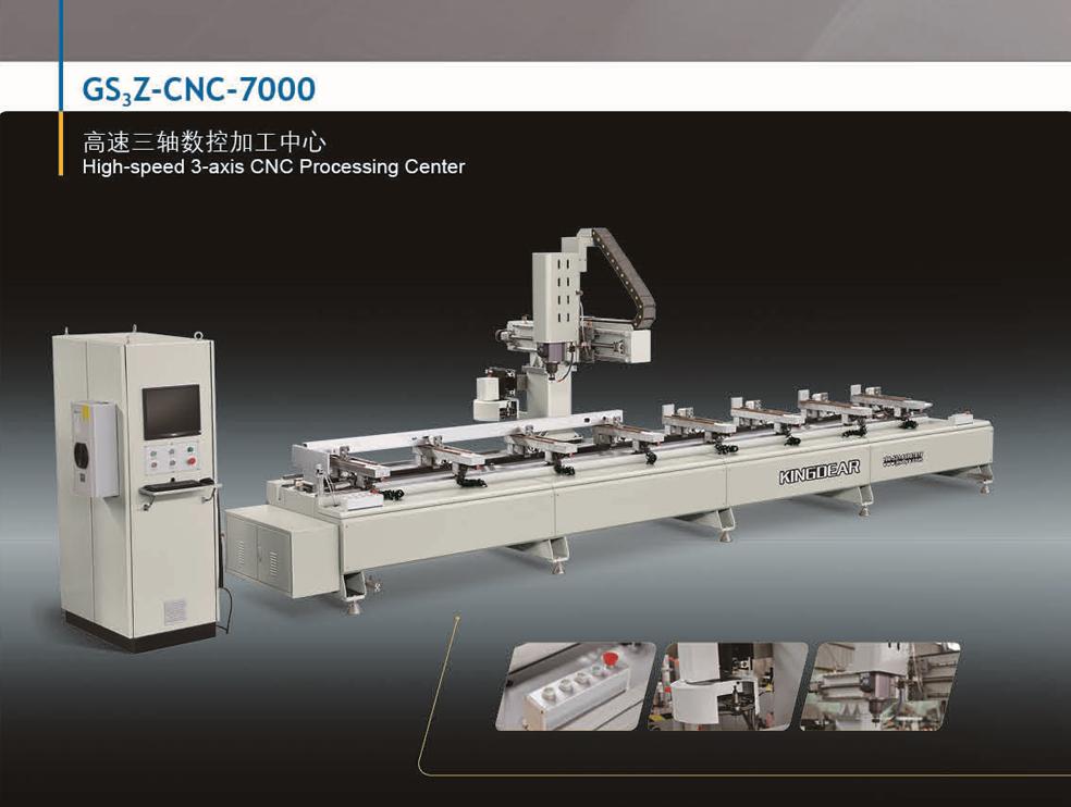 Profile processing equipment