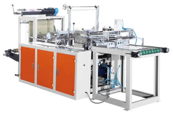 fully automatic platic bags making machine