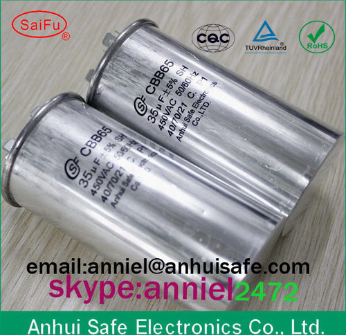 Best price motor running capacitor cbb65 3uf to 120uf 250vac 370vac 440vac oil capacitor Best price on motor oil