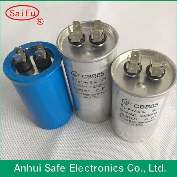 Newest design high quality cbb65b capacitor with aluminum case