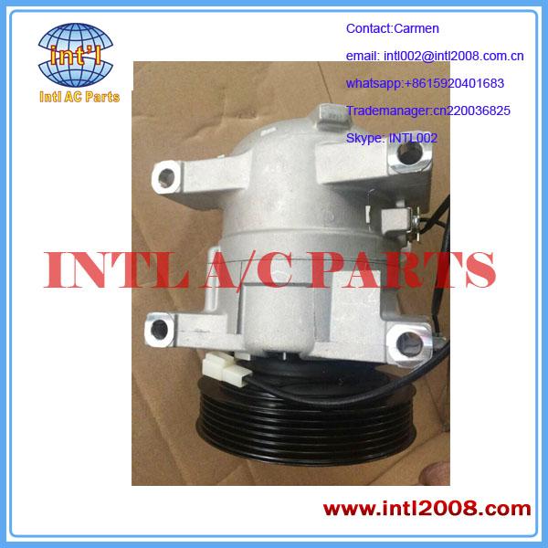 Auto AC Compressor Brand New 12V 6PK 27630-95F0C 27630-95F0B