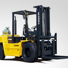 8T Internal Combustion Counterbalance Forklift Truck