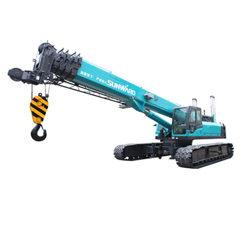 SWTC16 Telescopic crawler crane