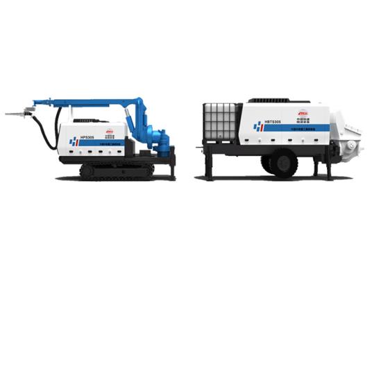 HPS08+HBS30 Shotcrete Machine Set
