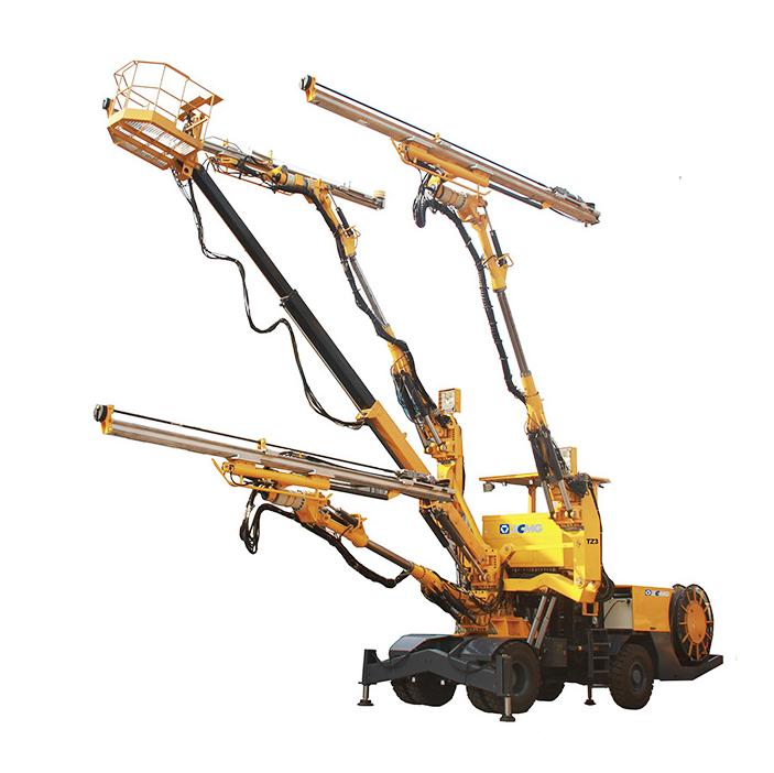 TZ3 Three-boom hydraulic rock drill jumbo
