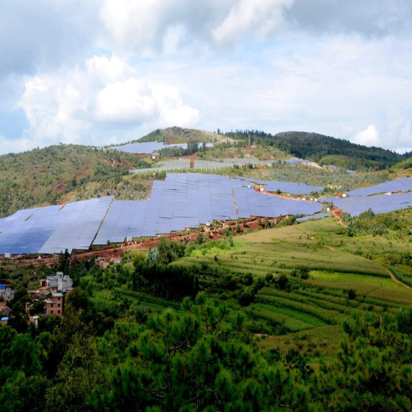 Yunnan Fumin 51MWp PV-Agriculture Integration Solar Power Plant
