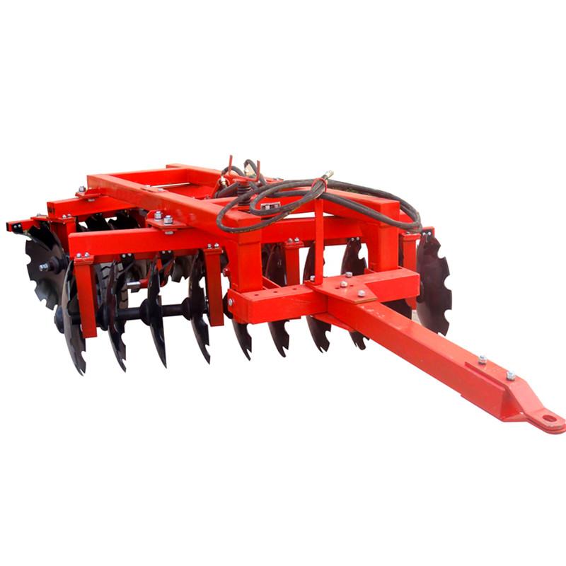 Farm tillage machine hydraulic offset heavy disc harrow