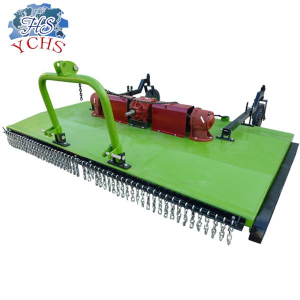 Farm tractor mounted lawn mower grass cutting machine