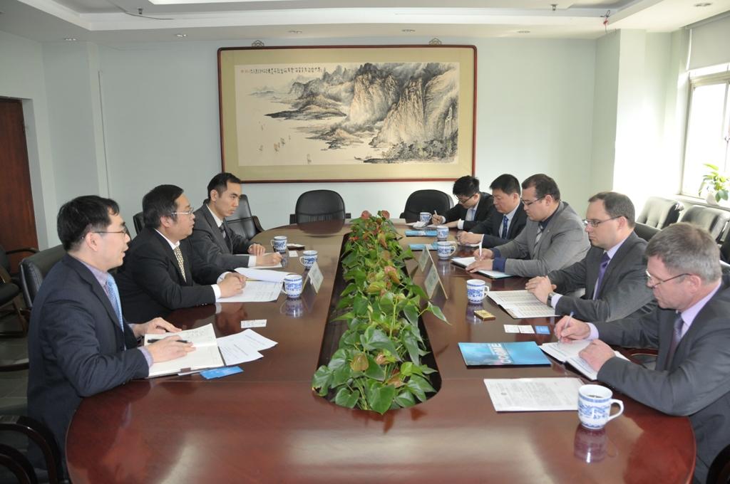 石永红副会长会见俄鞑靼斯坦共和国总统助理