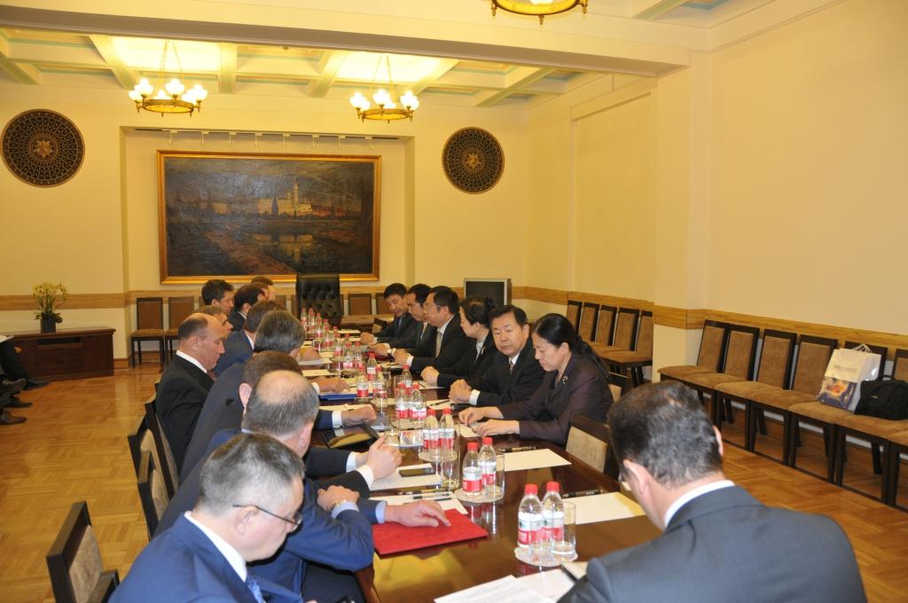 石永红副会长会见俄罗斯鞑靼斯坦共和国总统