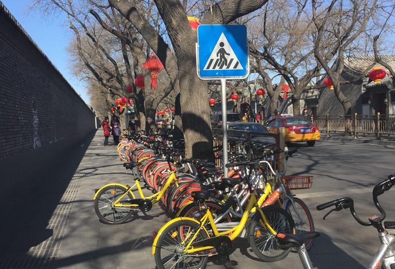 """""""自行车王国""""再兴:中国共享单车正""""骑""""向海外"""