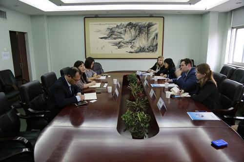 刘春副会长会见美国密西根州经济发展署一行