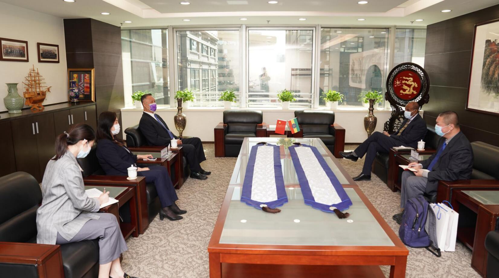 机电商会成功举办埃塞俄比亚贸易投资环境线上交流会