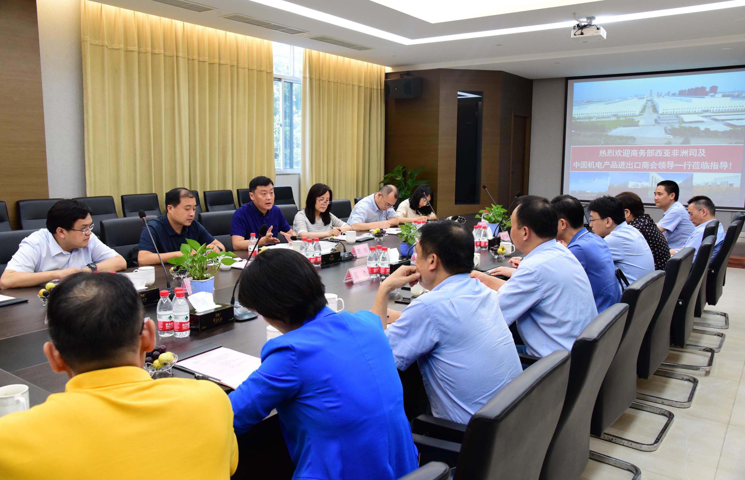 刘春副会长带队赴杭州、台州、宁波调研当地企业