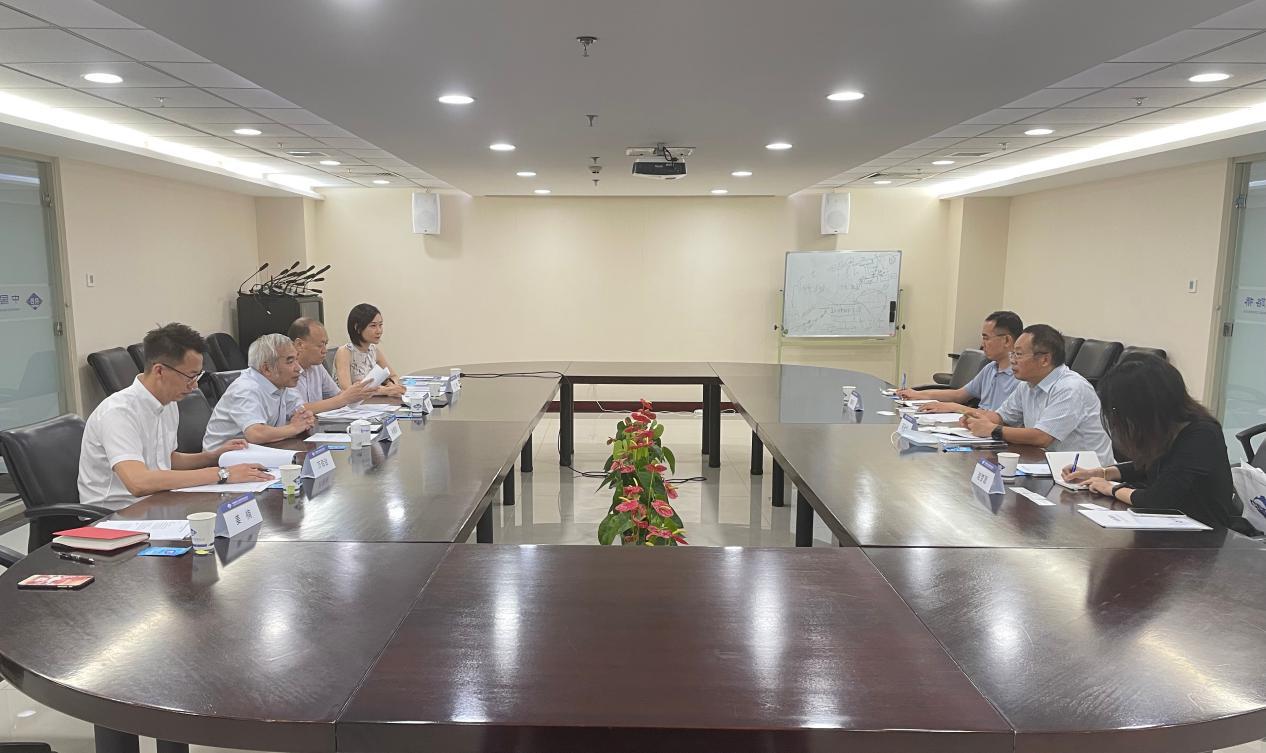 石永红副会长赴中国路桥工程有限责任公司调研