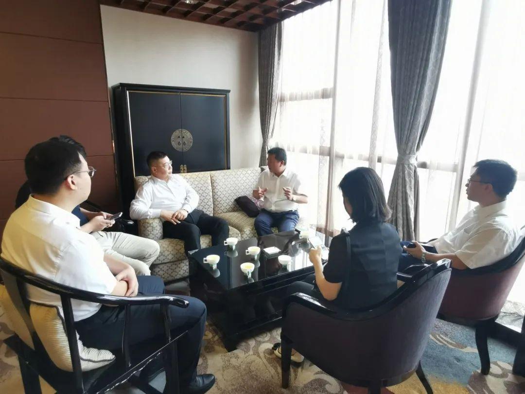 郑超副会长会见湖南省自贸办专职副主任廖光辉一行